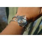 "Bracelet ""etoile"" transparent"