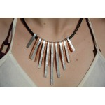 """Cleopatra"" hammered necklace"