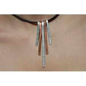 """Cleo"" pound necklace"
