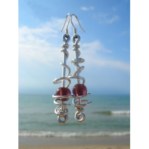 """Tornado"" earrings"