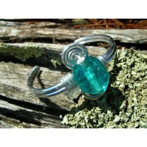 Indian glass bead bracelet