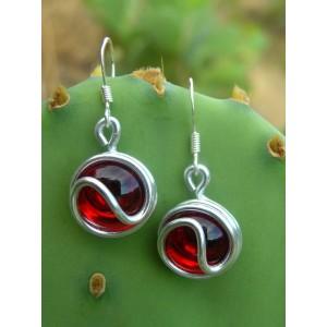Petites boucles d'oreilles ying-yang