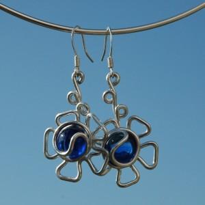 """Flor"" earrings"