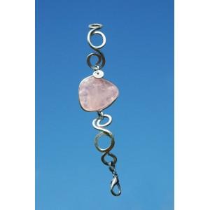 "Bracelet ""ElfiKa"" avec pierre naturelle"