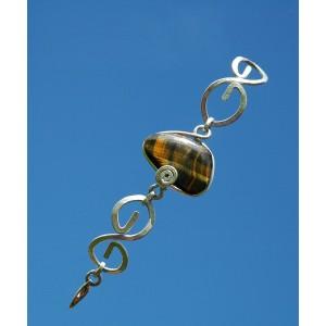 """Bracelet """"CeltiKa"""" avec pierre naturelle"""