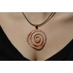 """Spirale"" pound pendant"