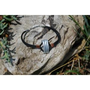 """Bracelet mixte """"Symbiose métallique"""""""