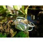 Bracelet carré avec pierres naturelles