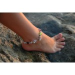 """""""Petits poissons"""" hand-made anklet"""