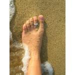 Bague de pied martelée