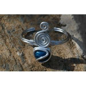 """Aladdin"" bracelet with natural stone"