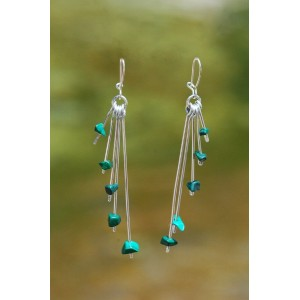 """""""Pépichic"""" earrings with small natural stones"""