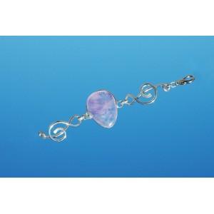 """Bracelet """"SymphoniKa"""" avec pierre naturelle"""